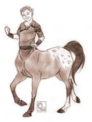 Centaur pride - Commission by Linda065cliva