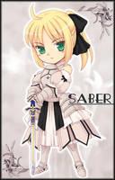 Saber Lily by orbg
