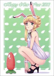 Iria : ver. Bunny girl by orbg