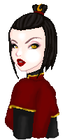 Azula's new haircut by Kesra-kyse