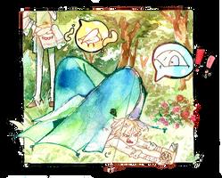 [ACT] - Aprendiendo sobre Scinelle con Manga! by little-mr-demon