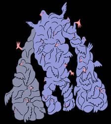 Dark World Bestiary: Pigeon Elemental by heuschrecke13