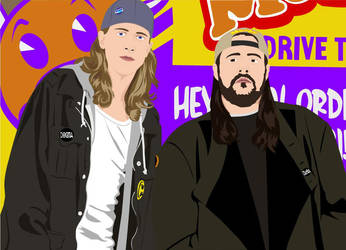 Fuckin' Jay and Silent Bob by Crazy-Mutt