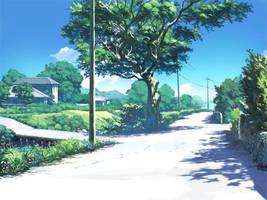 The Bike Path by FantasyFantasia11