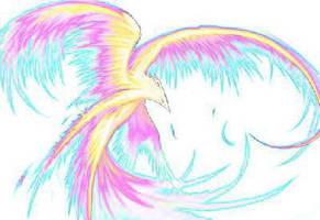 Ethereal phoenix by Rhahsid