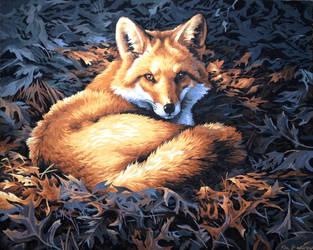 forest fox by JiaYin5