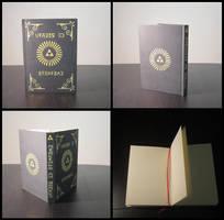 Legend of Zelda sketchbook - notebook - journal by Maz-Zeldette