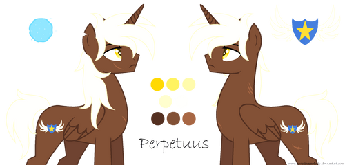MLP: Perpetuus reference sheet by SwirlingMelody