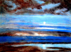 The Moons Silent Reflection by joboscott