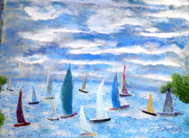 A Day for Sailing by joboscott