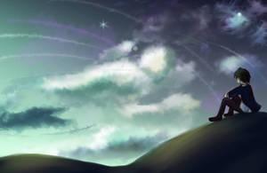 Speedpaint #3-sky by Fukyuinasshol-san