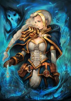 Jaina-Daughter of Sea by liuhao726