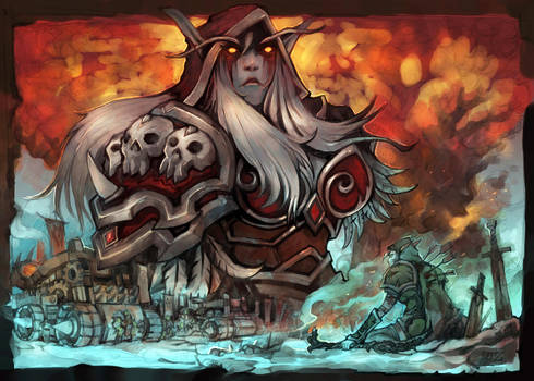 The anger of the Sylvanas by liuhao726