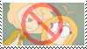 Request:: Anti GoldenFreddy X ChicaFnafhs Stamp :: by Kick-Smile-Plz