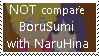 Request: Stop Compare all with naruhina by Kick-Smile-Plz