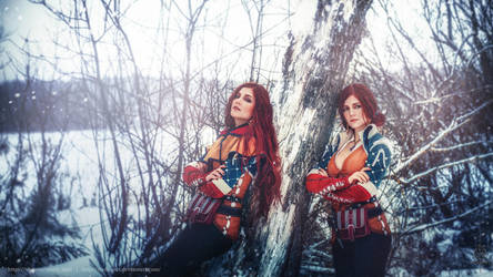 Triss and Triss by VirdaSeitr