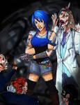 Aqua - Zombie Apocalypse by JoeyHazelLM