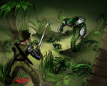 Heroscape Swamp Encounter by MacAddict17