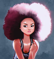 Afro by xylotto