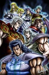 Hokuto no Ken Assemble of Soul by shuralvbu