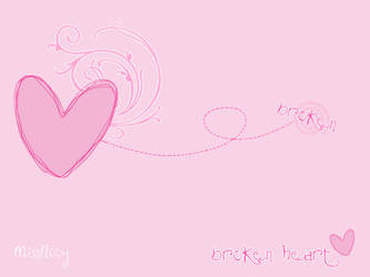 Broken heart by MissNooy