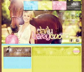 Order Layout ft. Kaley Cuoco #57 by BebLikeADirectioner