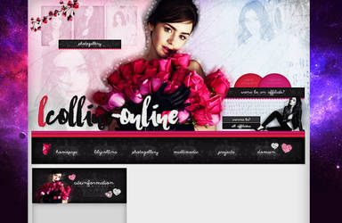 Order Layout ft. Lily Collins #72 by BebLikeADirectioner