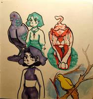 Doodles by BasementScum