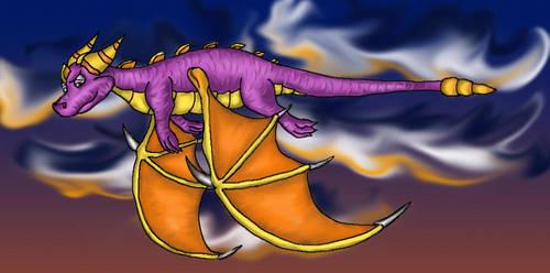 Spyro Spyro Spyro by NoreyDragon
