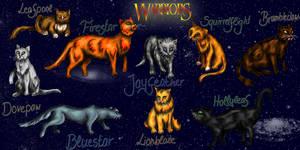 Warrior Cats by NoreyDragon