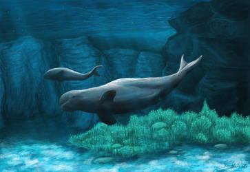 Deep blue Magic by NoreyDragon