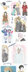 Firts sketches by Arue-kun