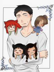 Kuroiso and Co. by Arue-kun