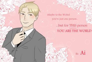 Be my Valentine by Arue-kun
