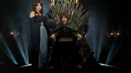 Iron Throne - Starks by NamiWalker