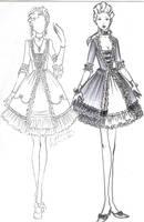 Rococo lolita: light and dark by Taicho