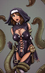 Tentacle Party with Erica by BioticKorgi