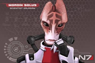 Mordin Solus by BioticKorgi