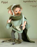Pippo hobgoblin art doll - poseable art doll by LegendLand