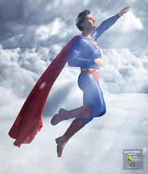 Comic poses for Genesis 3 Male by angela3d