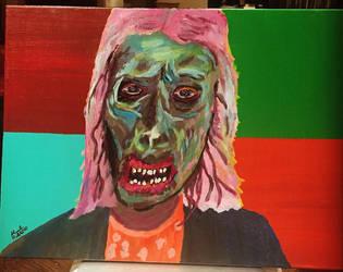 Walker. Zombie  by hisel13