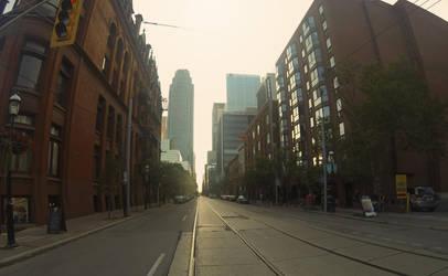 Wellington St, Toronto by XaBe20