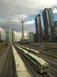 Toronto station by XaBe20