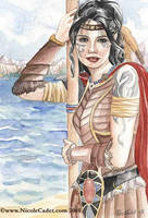 Coastal Warrior by NicoleCadet
