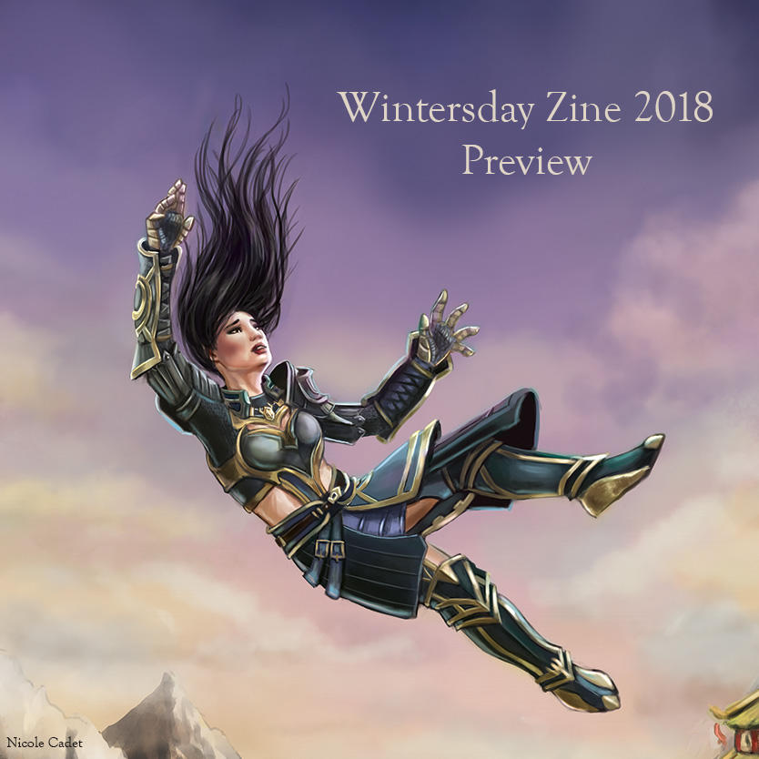 Wintersday Zine 2018 Preview by NicoleCadet