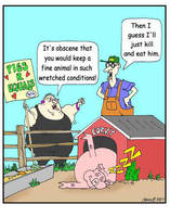 Pigs are Equals? by Conservatoons