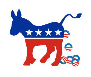 Improved Democrat Logo by Conservatoons