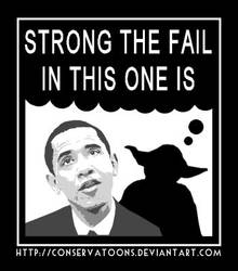 Strong the Fail is by Conservatoons