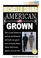 American Grown Book Cover by Conservatoons