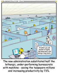 Government Shutdown Solution by Conservatoons